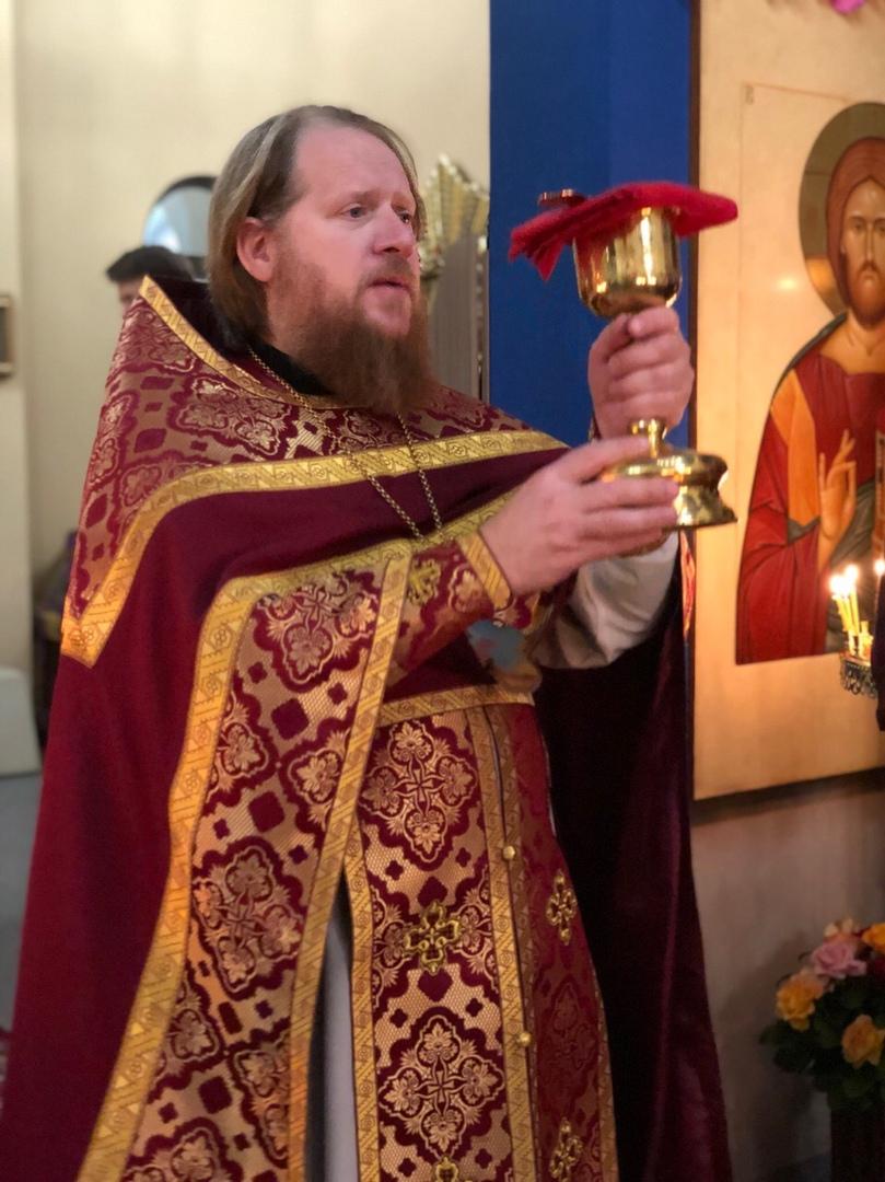 Праздничное богослужение посвященное дню памяти прп. Сергия игумена Радонежского