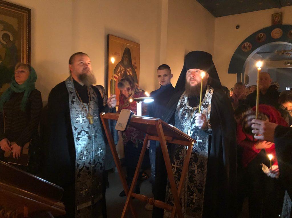 Чтение канона прп. Андрея Критского