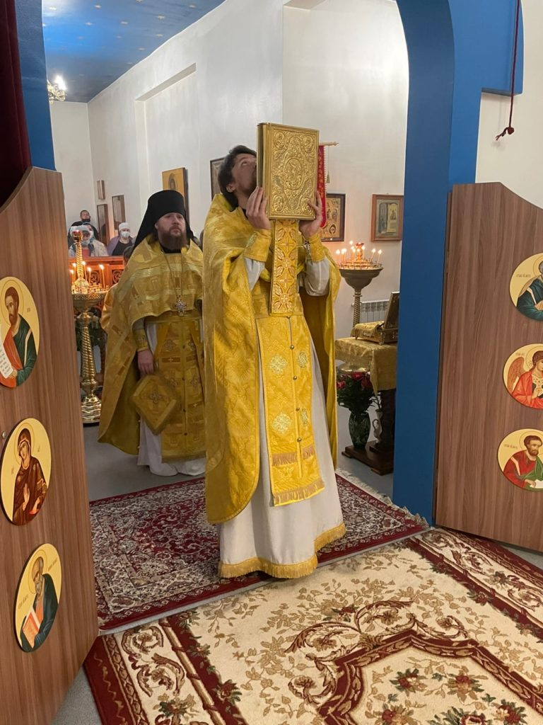 Воскресеное богослужение