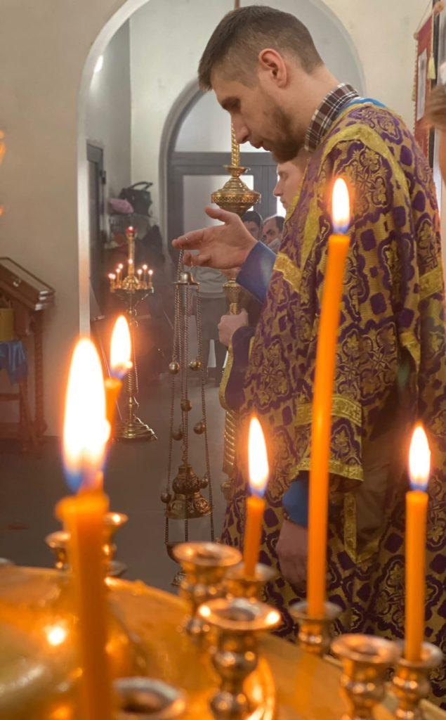Субботнее заупокойное богослужение