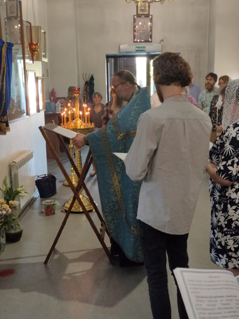 Воскресная литургия 29.08
