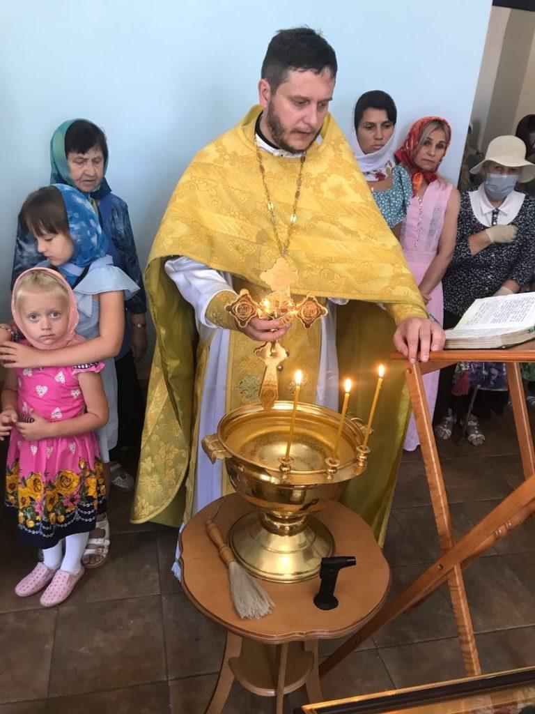 Воскресная служба 15.08