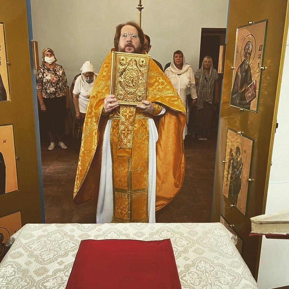 Божественная литургия 16.08