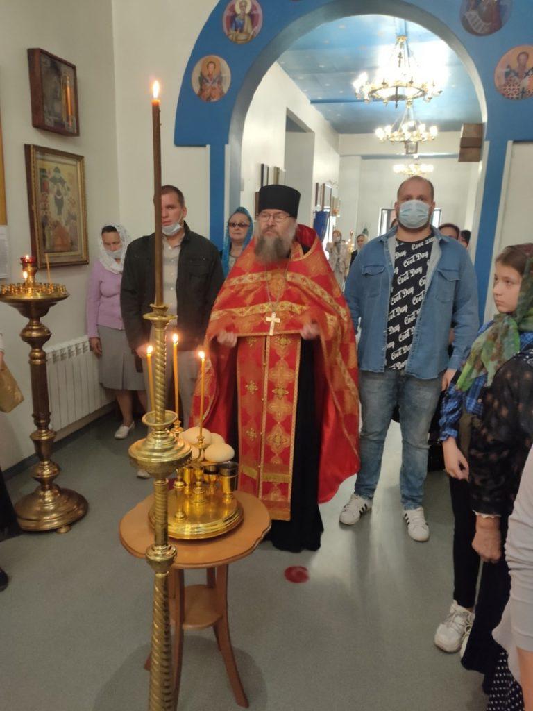 Всенощное бдение с литией (10.09)⚕
