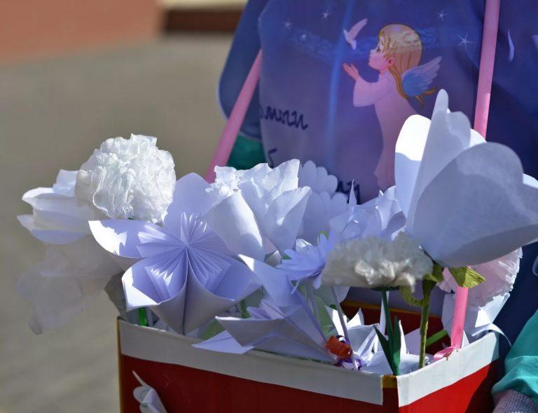 """Акция """"Белый цветок"""": история и цель благотворительной акции❗"""